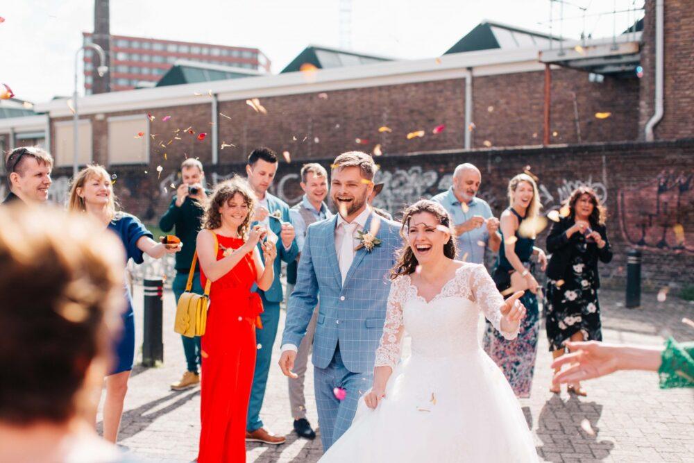 Een prachtige ecologische bruiloft in Amersfoort – A beautiful ecological wedding in Amersfoort
